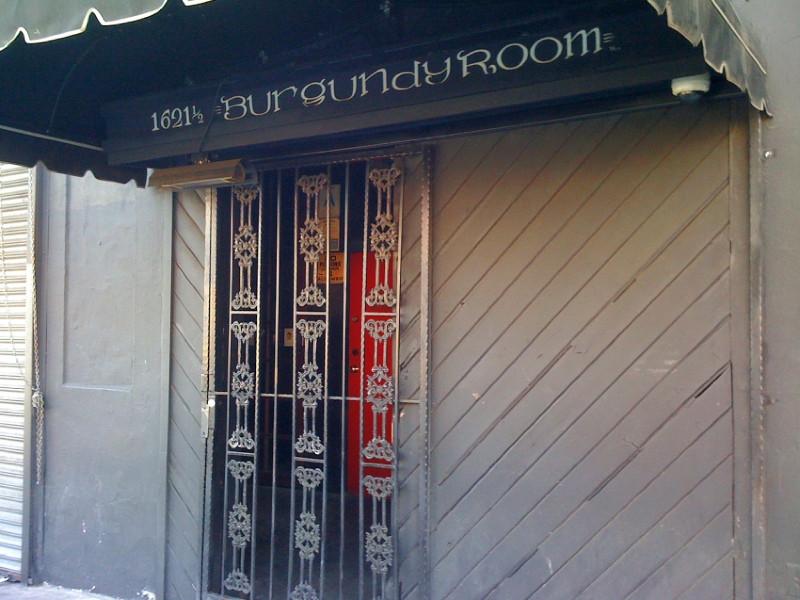 Los Angeles -Burgundy Room – Metal Bar