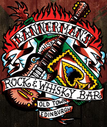 Edinburgh – Bannermans Bar – Metal Pub