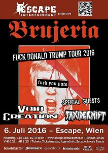 Escape - Brujeria - Fuck Donald Trump Tour 2016