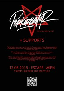 Perturbator, The Devil & The Universe Wien Escape