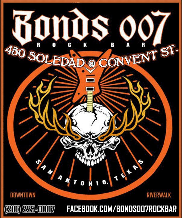 San Antonio – Bonds 007 Rock Bar