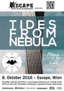 Tides From Nebula - Escape Wien