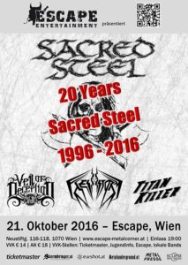 Sacred Steel - Escape Wien