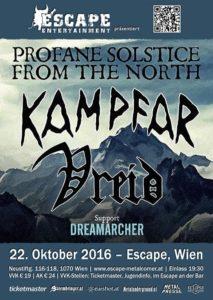 Kampfar - Escape Wien